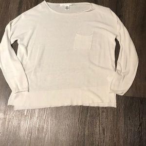 Max studio white sweater